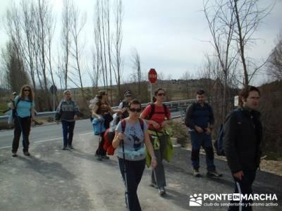 Senderismo por el Río San Juan; escapada fin de semana; Senderismo con imaginación